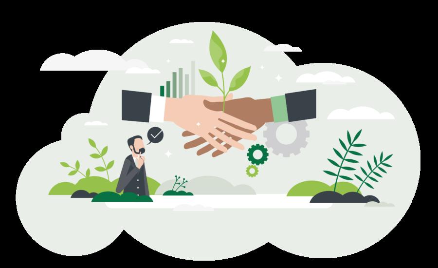 A beautiful green vous propose une analyse de vos fournisseurs suivie d'un plan d'action