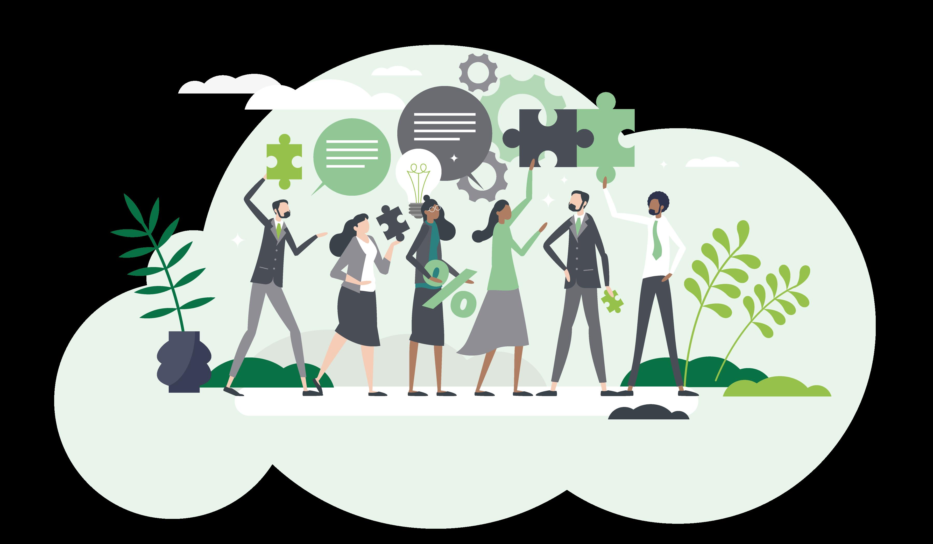 A beautiful green vous aide à mettre en place une stratégie permettant une meilleure gestion de votre impact environnemental